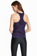 Sports vest top - Purple - Ladies | H&M GB 1