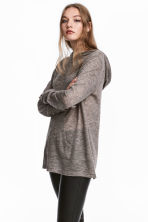 Fine-knit hooded jumper - null - Ladies | H&M CN 1