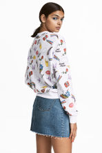 Printed sweatshirt - White/Unicorns - Ladies | H&M 1