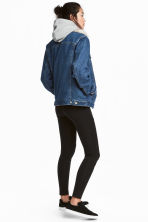 Jersey biker leggings - Black - Ladies | H&M IE 1