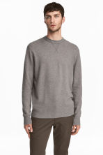 Cashmere jumper - Grey marl - Men | H&M 1