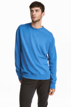 Pullover in cashmere - Blu acceso - UOMO | H&M IT 1