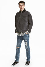 360° Flex Slim Jeans - Bleu denim clair/Trashed - HOMME | H&M CH 1