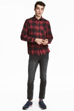 360° Flex Slim Jeans - Black/Washed - Men | H&M CN 1
