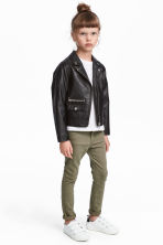 Twill trousers - Khaki green - Kids | H&M 1