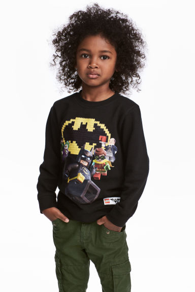 Sweat avec impression - Noir/Lego Batman -  | H&M FR 1