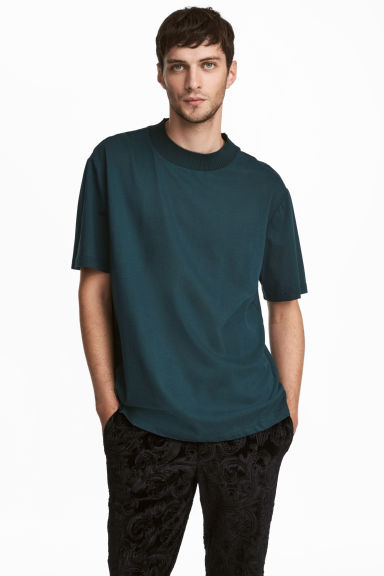 Mercerised cotton T-shirt Model