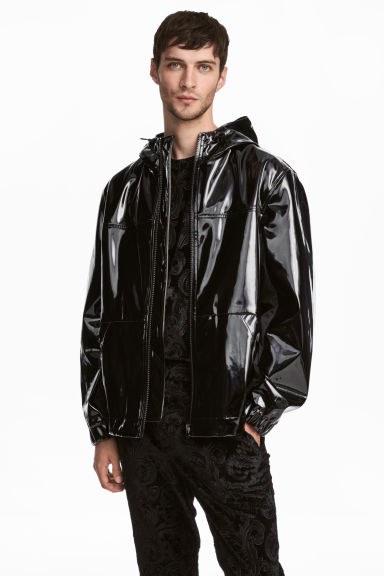 Patent jacket - Black -  | H&M