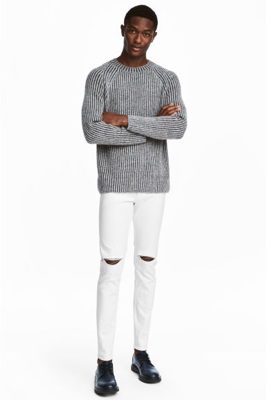 Skinny Regular Jeans - White - Men | H&M CN 1