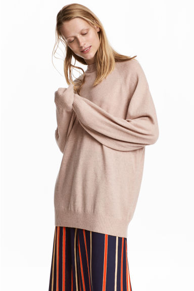 Cashmere Sweater - Beige - Ladies | H&M CA