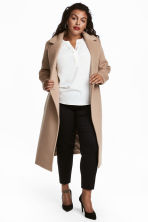 H&M+ Wool-blend coat - Camel - Ladies | H&M GB 1