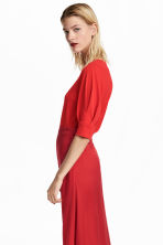 Jersey crêpe top - Red - Ladies | H&M CN 1