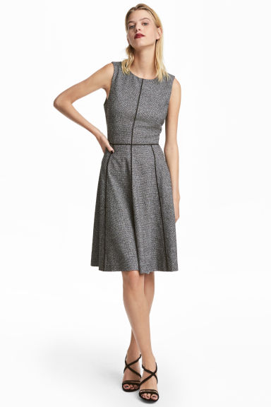 Sleeveless dress - Dark grey - Ladies | H&M 1