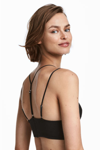 Mesh Bralette - Black - Ladies | H&M CA