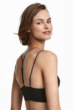 Mesh bralette - Black - Ladies | H&M 1