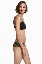 3-pack cotton hipster briefs - Khaki green/Patterned - Ladies | H&M IE 1