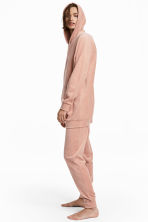 Velour pyjama bottoms - Pink - Ladies | H&M 1