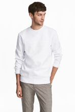 Printed sweatshirt - White - Men | H&M 1