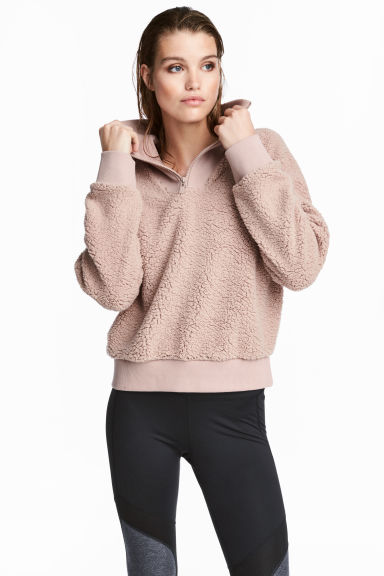 Pile top - Beige - Ladies | H&M