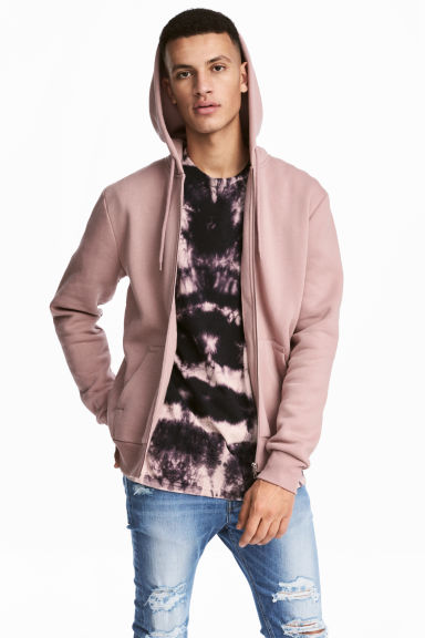 Hooded jacket - Old rose - Men | H&M IE