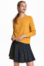 Knitted jumper - Mustard yellow - Ladies | H&M 1