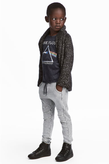 Joggers lavados - Gris washed out -  | H&M ES