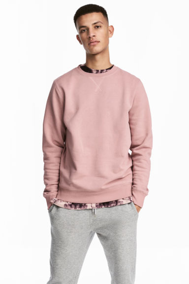 Sweatshirt - Pale pink - Men | H&M 1