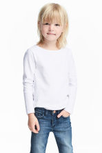 3-pack long-sleeved tops - Pink/White - Kids | H&M CN 1