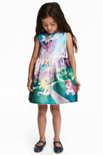 Patterned dress - Light pink/My Little Pony -  | H&M 1