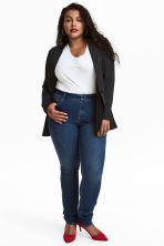 H&M+ Stretch trousers - Denim blue - Ladies | H&M IE 1
