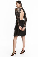 Lace dress - Black - Ladies | H&M 1
