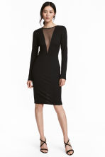 Dress - Black - Ladies | H&M 1