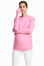 MAMA Knitted jumper - Light pink - Ladies | H&M 1