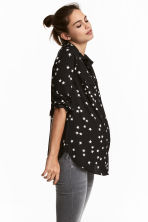 MAMA Shirt - Black/Stars - Ladies | H&M 1