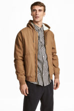 Padded jacket - Camel - Men | H&M 1