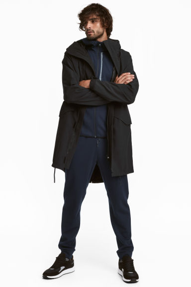 Outdoor parka - Black - Men | H&M GB 1