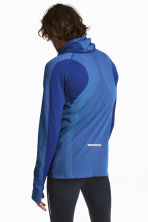 Seamless running top - Bright blue - Men | H&M 1