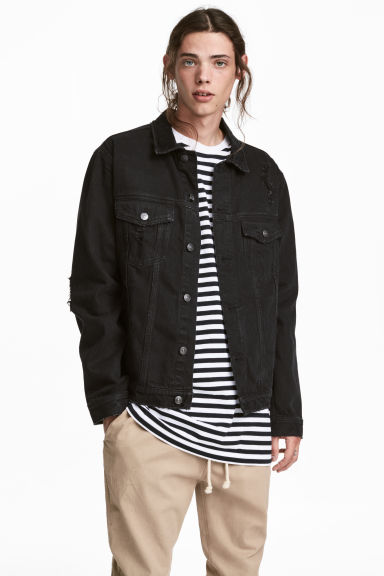 Denim jacket - Black -  | H&M