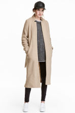 Cappotto in misto lana - Beige - DONNA | H&M IT 1