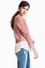 Knitted jumper - Vintage pink - Ladies | H&M 1