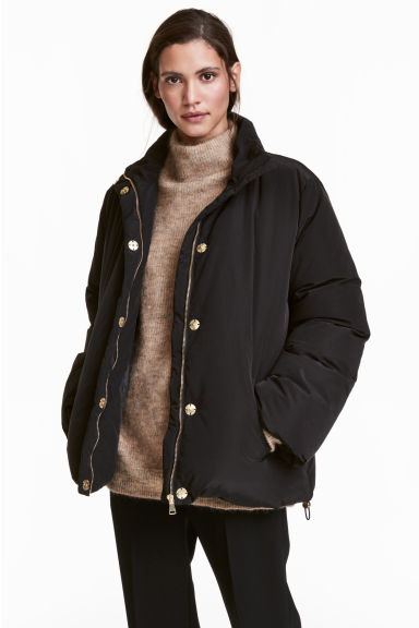 Down jacket - Black - Ladies | H&M 1