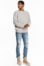 Slim Low Jeans - Denim blue - Men | H&M CN 1