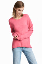 Knitted jumper - Pink - Ladies | H&M 1