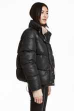 Padded jacket - 黑色 - Ladies | H&M CN 1