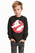 Printed sweatshirt - Dark grey/Ghostbusters -  | H&M 1