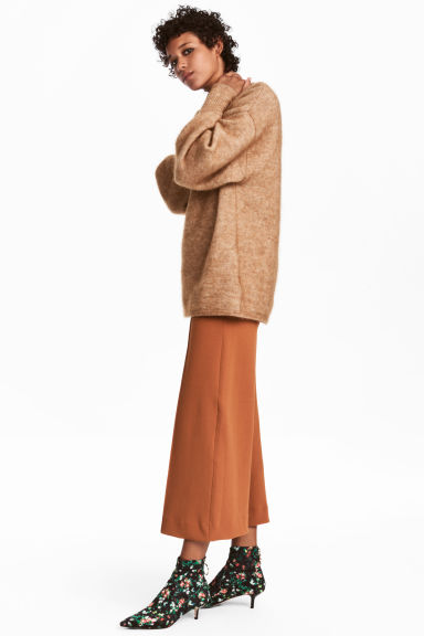 Wide trousers - Ochre - Ladies | H&M GB