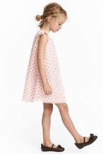Glittery tulle dress - Light pink/Spotted - Kids | H&M CN 1