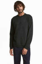 Sweatshirt - Black - Men | H&M 1