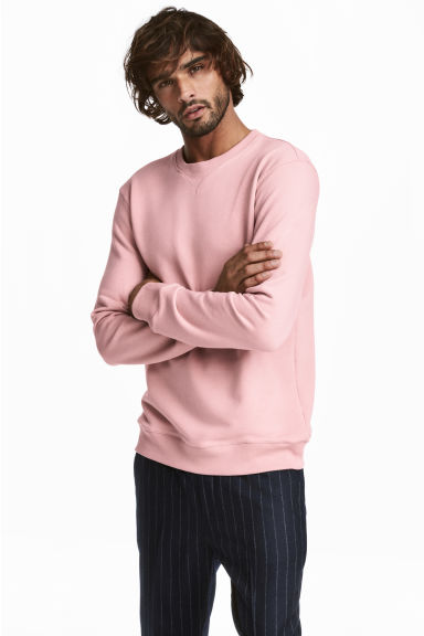 Sweatshirt - Light pink -  | H&M