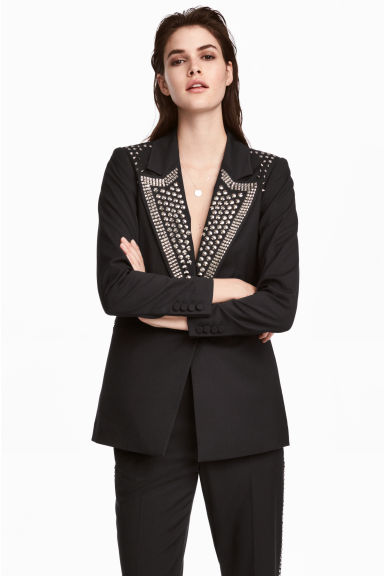 Jacket with studs Model
